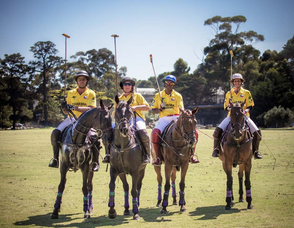 Texas SBA Polo Team 2018 Victorian Polo Club Cup